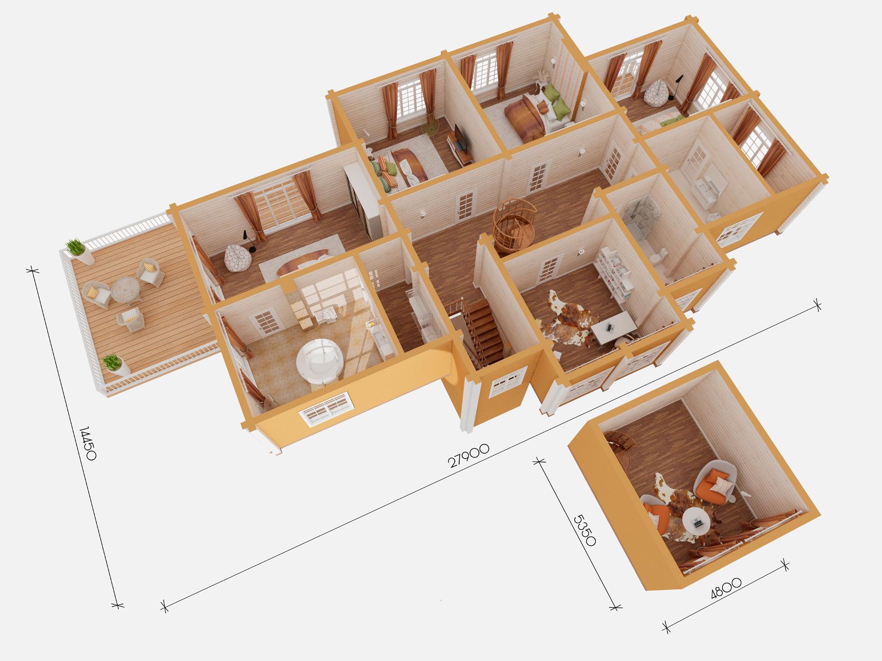 Териоки 2 этаж